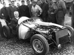 1947 Ferrari 125S. Enzo Ferrari