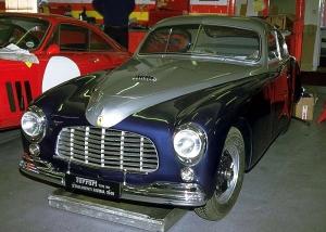 1949 Ferrari 166 Inter Farina Coupe 037S