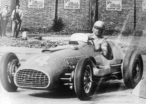 1950 Ferrari 166 F2-50 Alberto Ascari GP Modena 1950