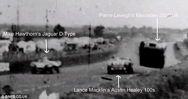 Accidente Le Mans 1955