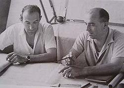Aurelio Lampredi y Gioachino Colombo
