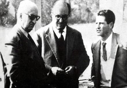 Enzo FErrari - Carlo Chitti - Giotto Bizzarrini