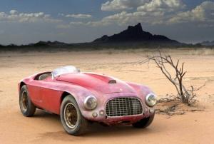 Ferrari 166 MM. Abandonado durante 50 años en el desierto de Arizona