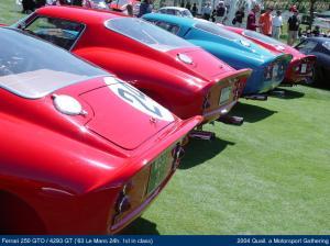 1963 Ferrari 250 GTO #4293GT. Vencedor Lemans 1963