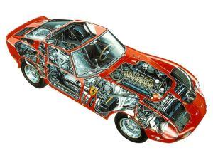 Ferrari 250 GTO Ilustracion