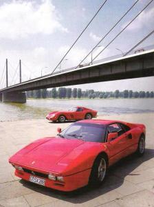 Ferrari 288 GTO y 250 GTO