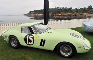 Ferrari 250 GTO de Stirling Moss. Subastado en 2012 por 35 millones de dólares