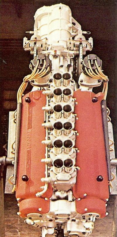 V12 Testa rossa