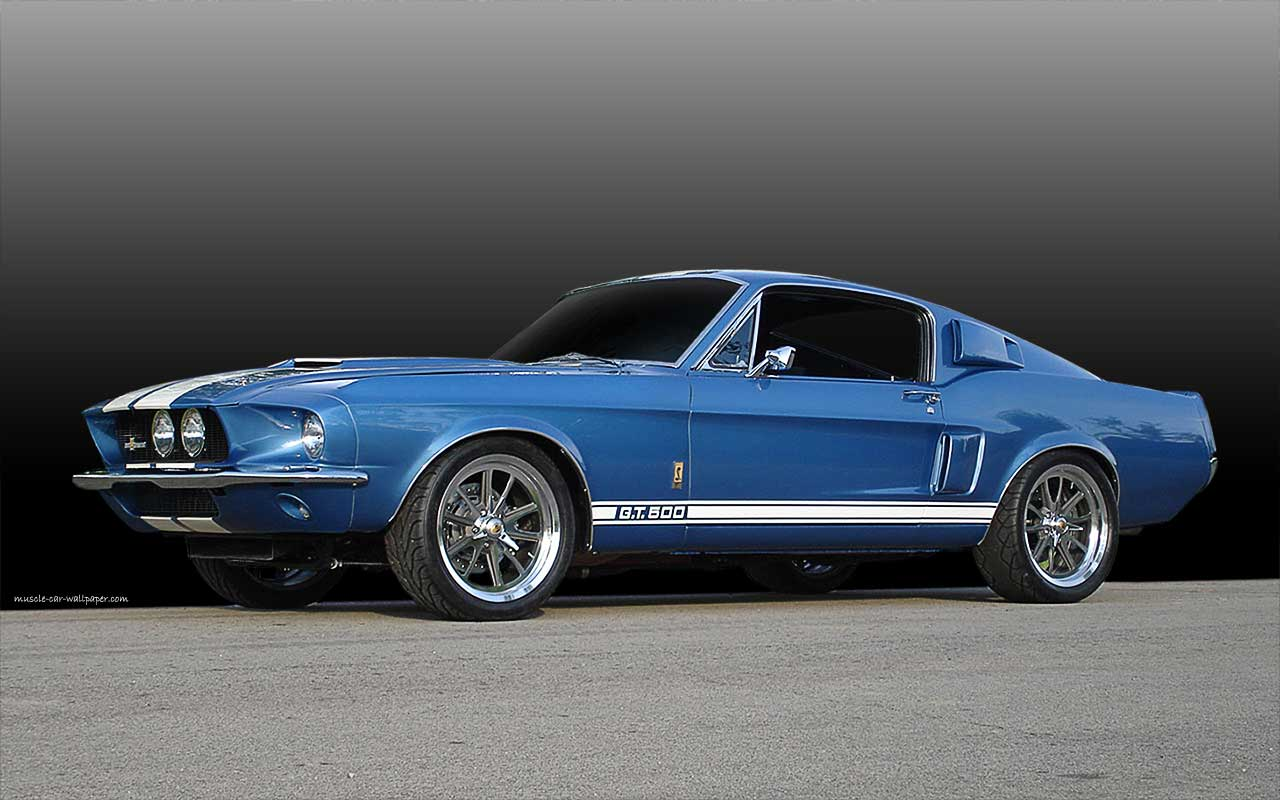 1967 mustang shelby gt500 1280 800 07 coches clasicos de hoy. Black Bedroom Furniture Sets. Home Design Ideas