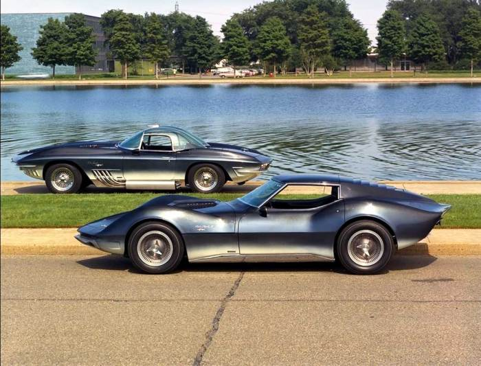 GM Heritage Center - Corvette Mako Shark I and II