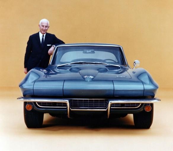 1966 Corvette wtih Zora Arkus-Duntov