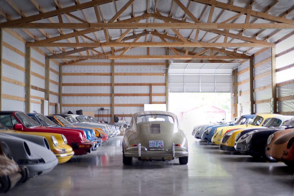Garaje porsche coches clasicos de hoy - Garaje de coches ...