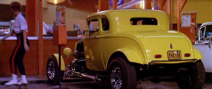 1932 ford v8 deuce coupe in american graffiti coches clasicos de hoy. Black Bedroom Furniture Sets. Home Design Ideas