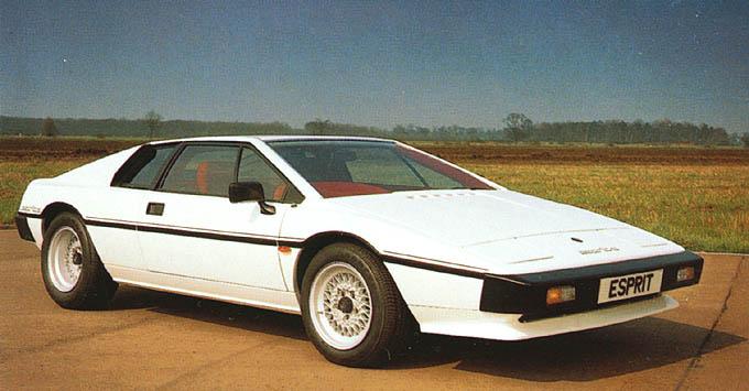 1980 Lotus Esprit S2.2 Coupe f3q
