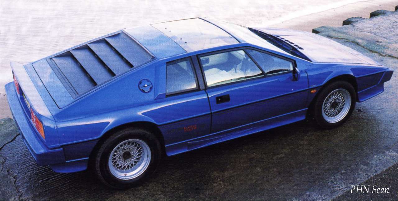 1987 - Lotus Esprit Turbo HC