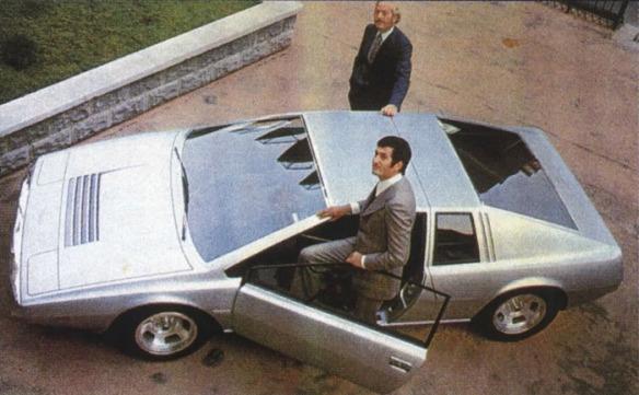 72id lotus esprit concept Colin Chapman y Giorgetto Giugiaro