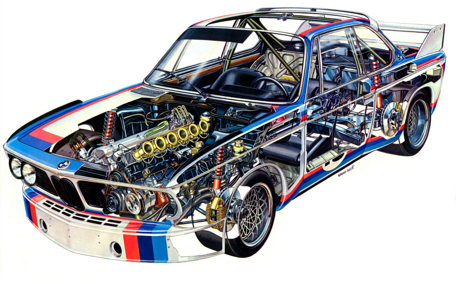 bmw e9 csl 3 0 group 2 1973 racing cars. Black Bedroom Furniture Sets. Home Design Ideas