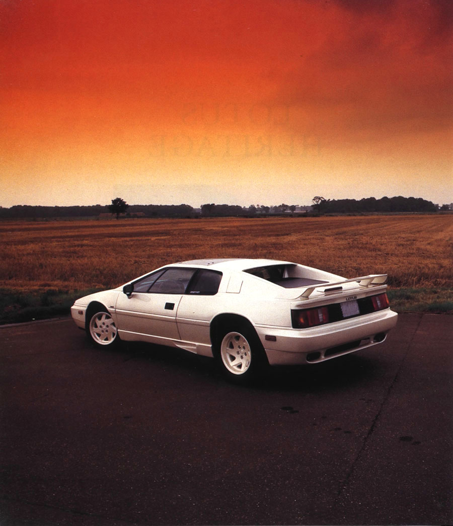 Lotus Esprit Federal 40th Anniversary
