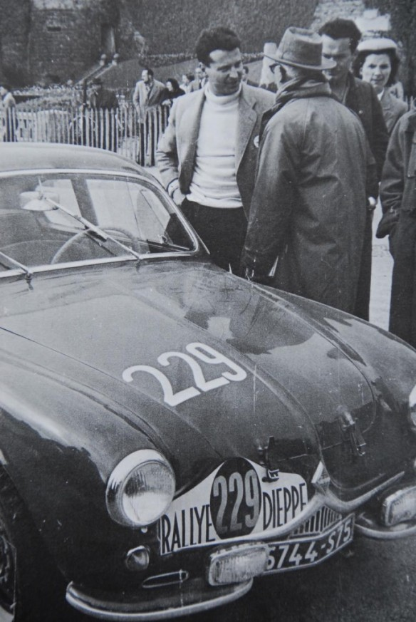 The first Redele Renault Special, Rally Dieppe 1953
