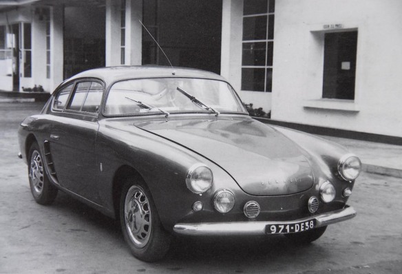 The second Michelotti-Allemano car delivered in 1955