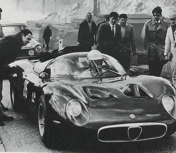 1967 Subida al Fleron,al volante Teodoro Zeccoli. Primera carrera primera victoria