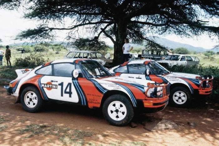 1978 Porsche-911 SC Safari Martini.