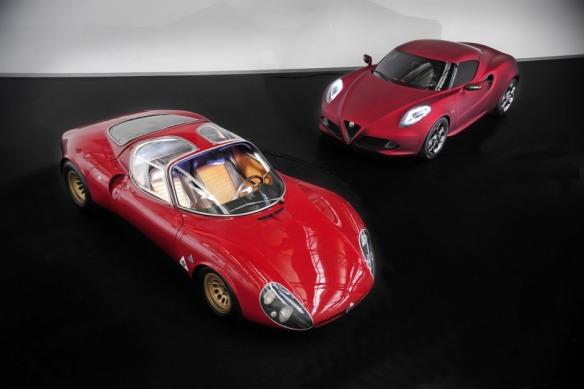 Alfa Romeo 4C y 33 Stradale 5