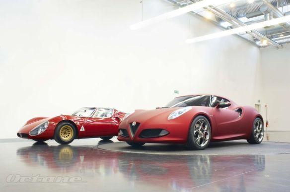 Alfa Romeo 4C y 33 Stradale 6