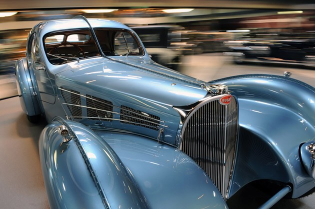 1936 Bugatti Type 57C Atlantic – $43.7 million (2010)