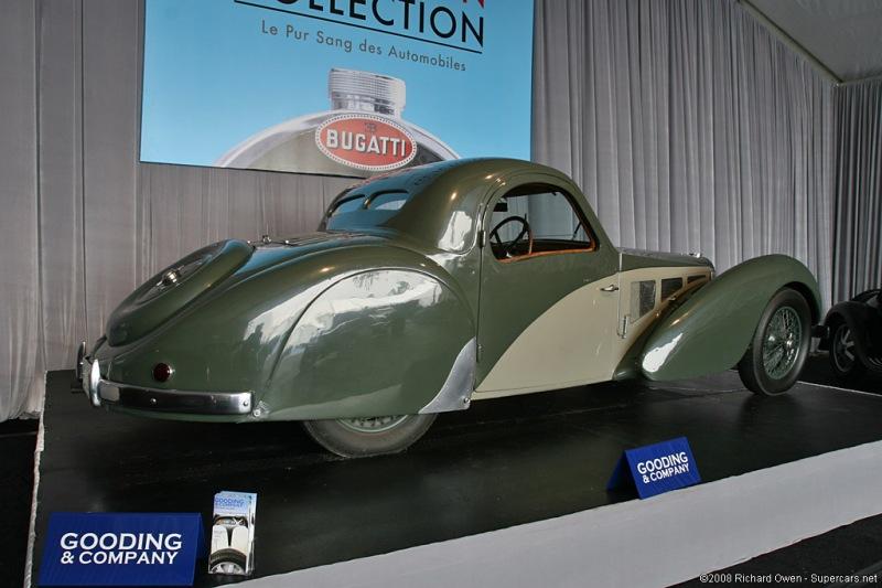 1937 Bugatti Type 57SC Atalante Coupe $7,920,000 2008