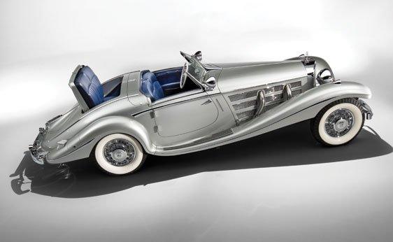 1937 Mercedes-Benz 540 K Spezial Roadster Sold for $9.68 Million at Monterey 3