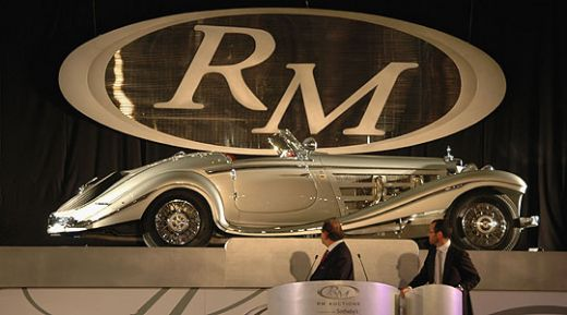 1937 Mercedes-Benz 540K Special Roadster – $8.2 million