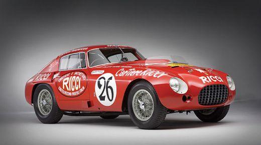 1953 Ferrari 340 375 M Berlinetta Competizione – $5.8 million