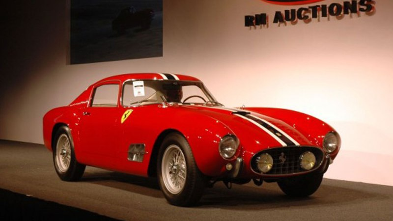 1956 Ferrari 250 GT Tour de France Coupe 6710000$ 2012 2