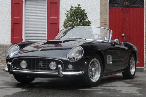 1961 Ferrari 250 GT SWB California Spyder – $10.9 million 2008 2
