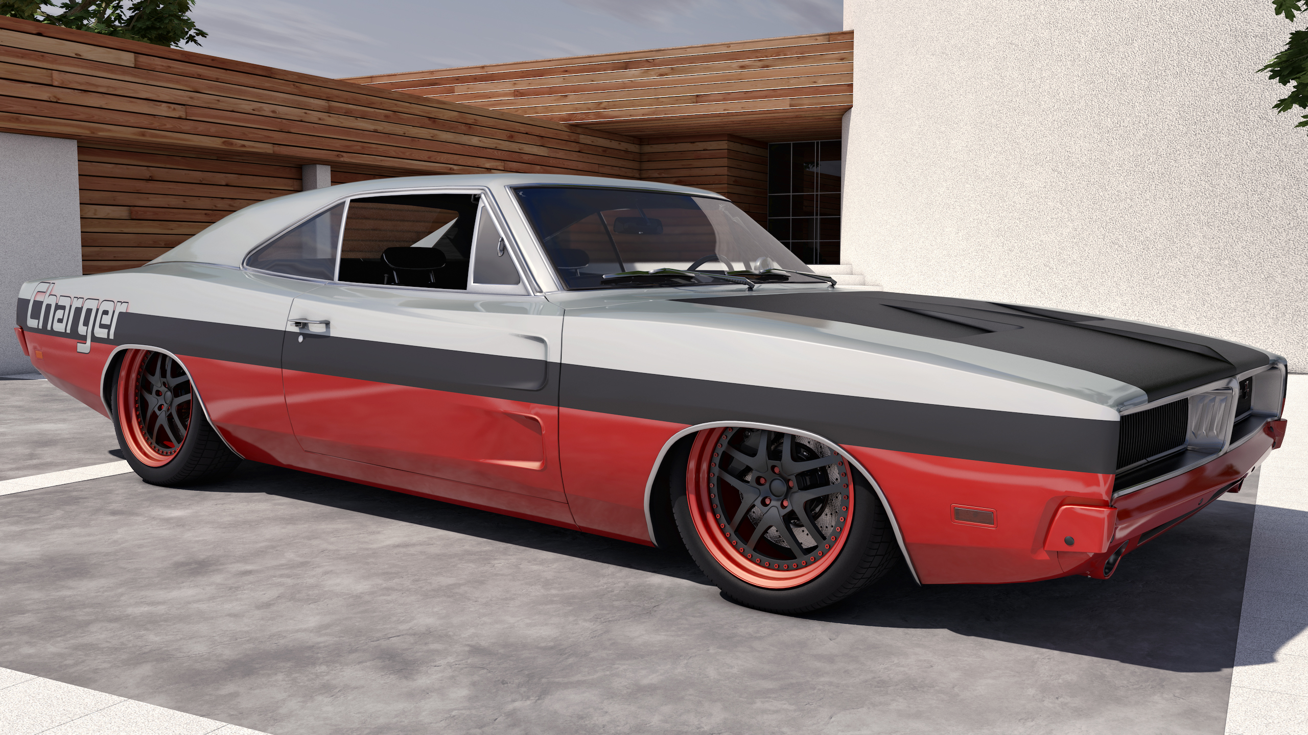 3d 1969 dodge charger r t coches clasicos de hoy. Black Bedroom Furniture Sets. Home Design Ideas