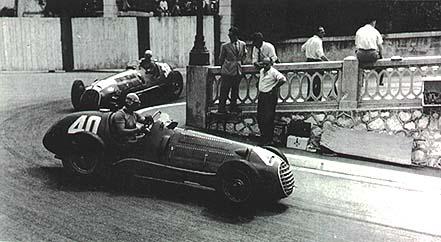 Ferrari 125 F1 1950 (Ascari y Villoresi) Monaco