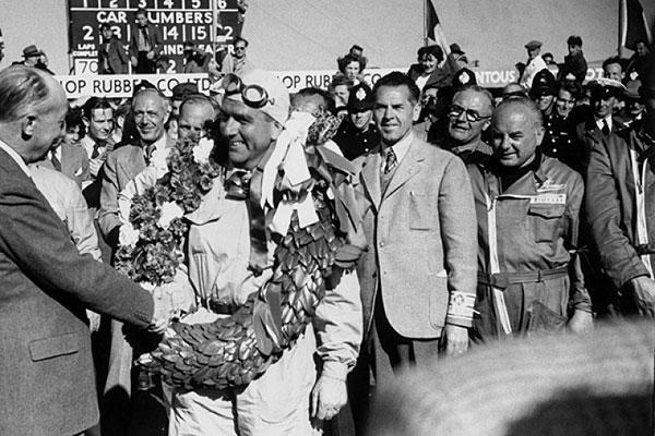 Nino Farina Silverstone 1950