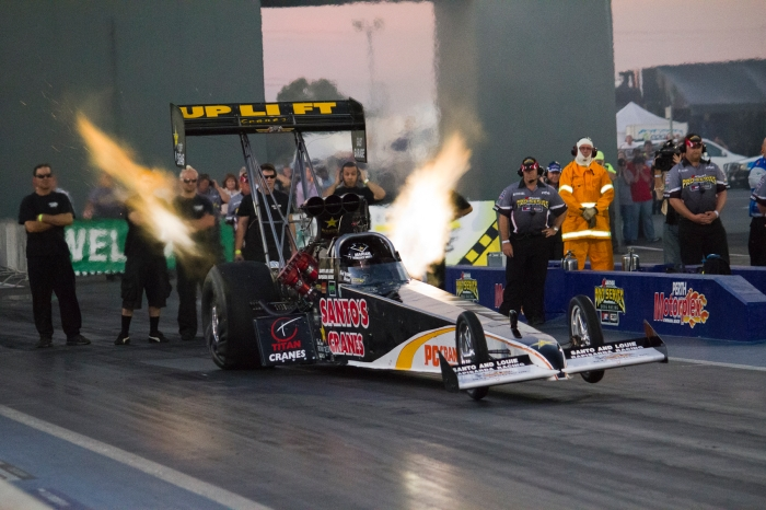 Top Fuel dragster 2011