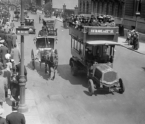 1918 Nueva York 5th-Avenue-Bus