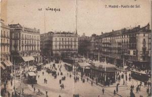 El coche en el paisaje urbano 1910 coches clasicos de hoy for Puerta del sol hoy