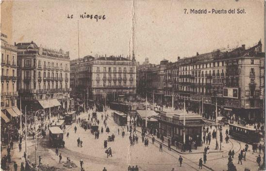 1919 madrid puerta del sol coches clasicos de hoy for Puerta del sol hoy