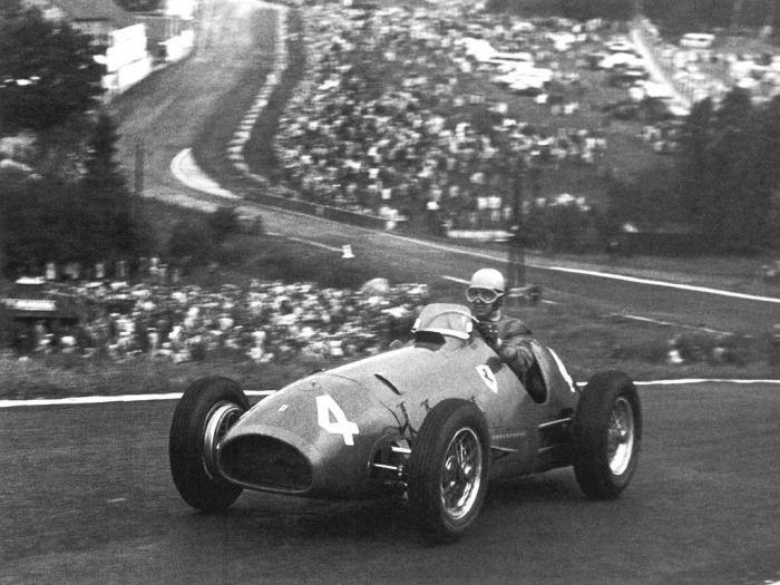 1952 GP Belgica - Alberto Ascari 1º
