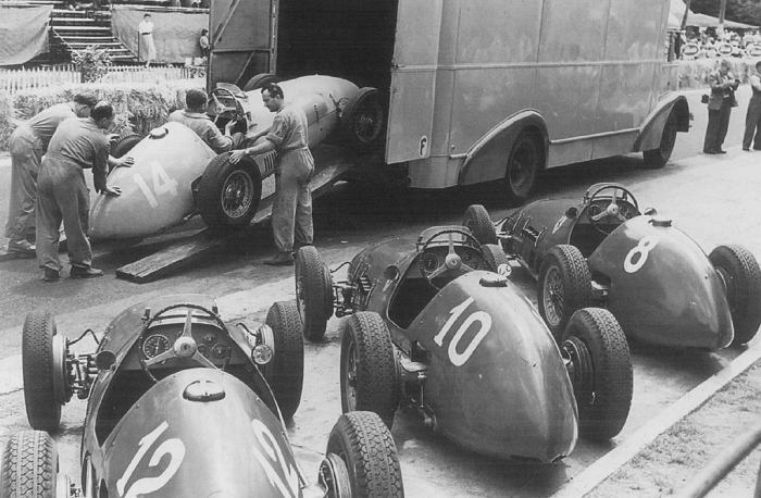 1952 GP Francia - ferrari team