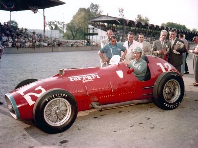 1952 Indianapolis - Alberto Ascari Ferrari 375 special