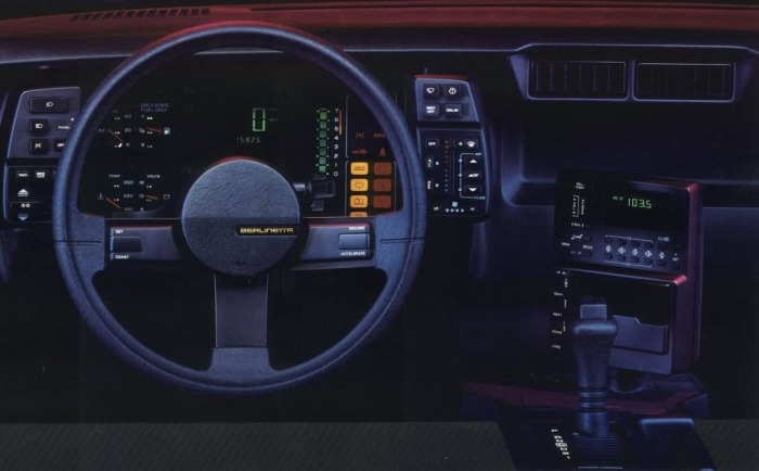 1984 Chevrolet Camaro Berlinetta