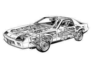1 8 Turbo Engine Diagram Bolt likewise Z 28 Race Car together with Chevrolet Camaro Hasta Hoy 3a Generacion 1982 1992 furthermore  on chevy camaro 1982 z28 pace car