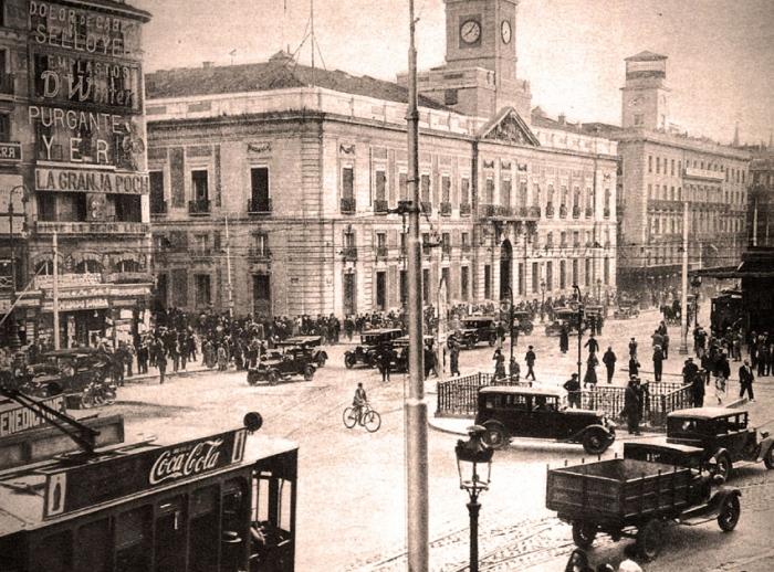 1929 Pta Sol Madrid