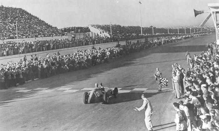 1953 GP Argentina - Alberto Ascari (Ferrari 500) 1st 1 2