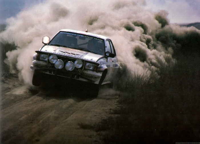 1983 Rally Safari - Ari Vatanen